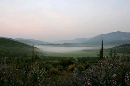 Galilee in the north of Israel